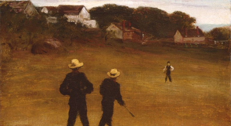 The Ball Players, 1871