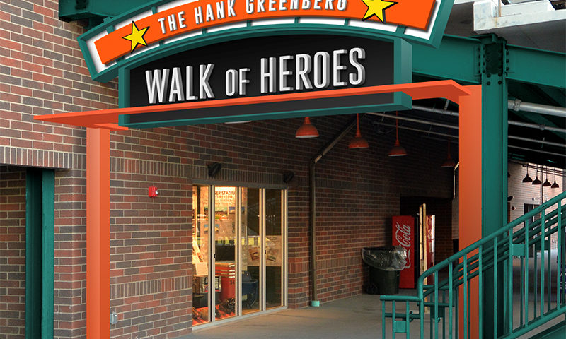 Walk of Heroes at The Corner Ballpark