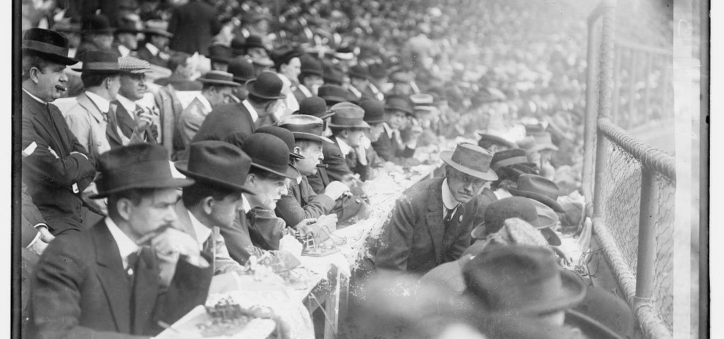 Reporters at the World Series